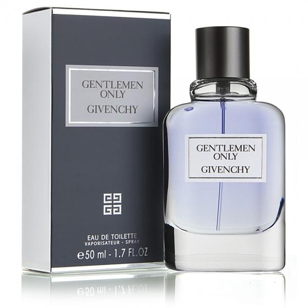 Givenchy Gentlemen Only — туалетная вода 50ml для мужчин