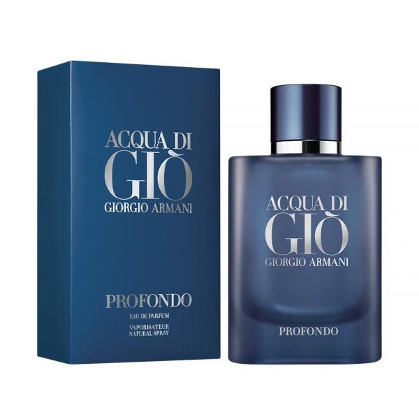 Giorgio Armani Acqua di Gio Profondo — парфюмированная вода 75ml для мужчин