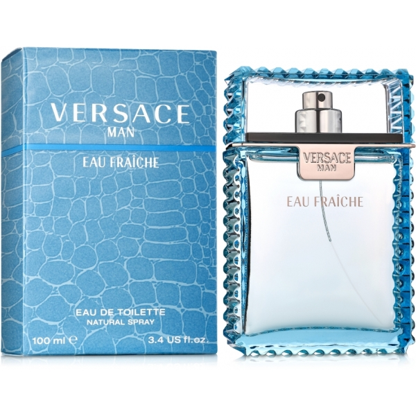 Versace Man Eau Fraiche — туалетная вода 100ml для мужчин лицензия (lux)