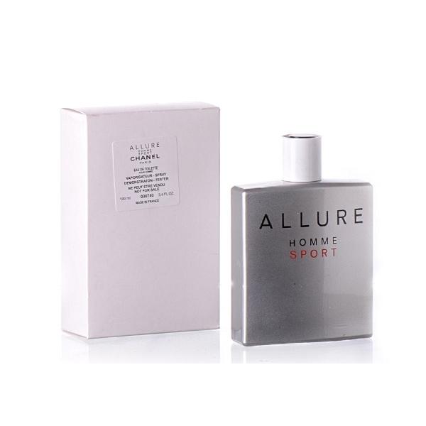 Chanel Allure Homme Sport — туалетная вода 100ml для мужчин ТЕСТЕР ЛИЦЕНЗИЯ LUX
