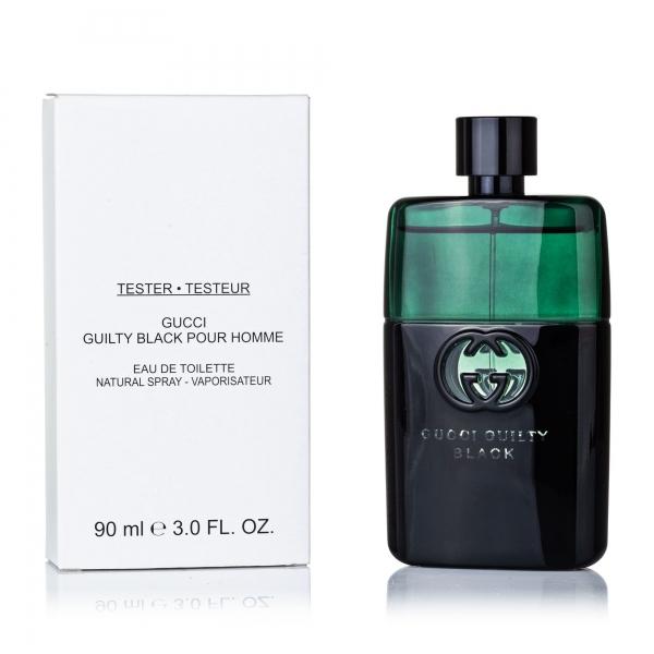 Gucci Guilty Black Pour Homme — туалетная вода 90ml для мужчин ТЕСТЕР ЛИЦЕНЗИЯ LUX