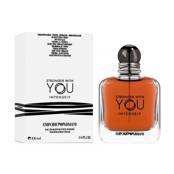 Giorgio Armani Emporio Armani Stronger With You Intensely — парфюмированная вода 100ml для мужчин ТЕСТЕР ЛИЦЕНЗИЯ LUX