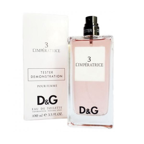Dolce & Gabbana 3 L`Imperatrice — туалетная вода 100ml для женщин ТЕСТЕР ЛИЦЕНЗИЯ LUX