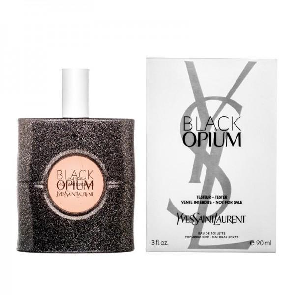 Yves Saint Laurent Black Opium Eau De Toilette — туалетная вода 90ml для женщин ТЕСТЕР ЛИЦЕНЗИЯ LUX