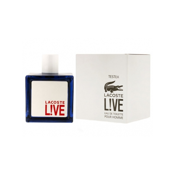 Lacoste Live Pour Homme — туалетная вода 100ml для мужчин ТЕСТЕР ЛИЦЕНЗИЯ LUX