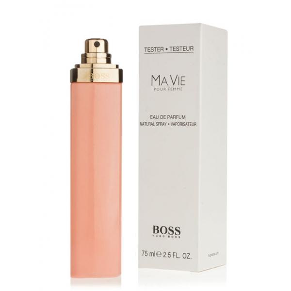 Hugo Boss Ma Vie Pour Femme — парфюмированная вода 75ml для женщин ТЕСТЕР ЛИЦЕНЗИЯ LUX