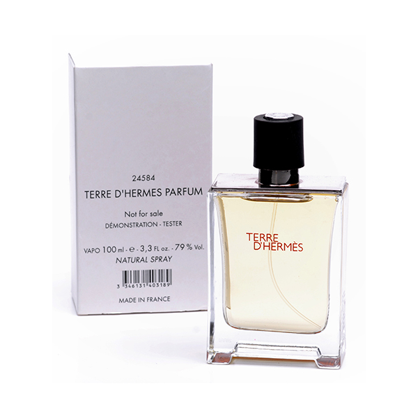 Hermes Terre D`Hermes — туалетная вода 100ml для мужчин ТЕСТЕР ЛИЦЕНЗИЯ LUX