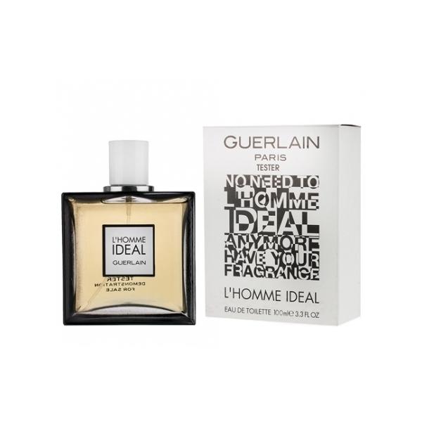 Guerlain L`Homme Ideal — туалетная вода 100ml для мужчин ТЕСТЕР ЛИЦЕНЗИЯ LUX