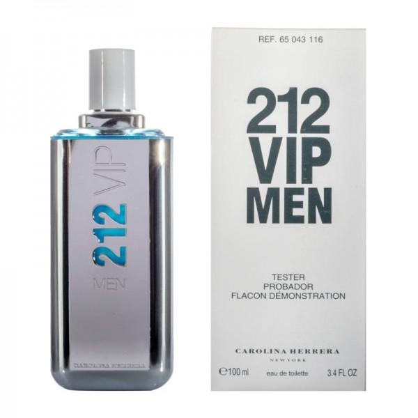 Carolina Herrera 212 Vip — туалетная вода 100ml для мужчин ТЕСТЕР ЛИЦЕНЗИЯ LUX