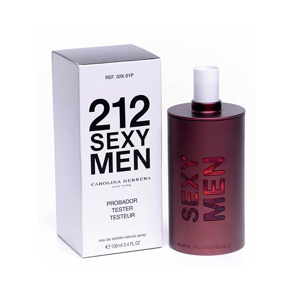 Carolina Herrera 212 Sexy Men — туалетная вода 100ml для мужчин ТЕСТЕР ЛИЦЕНЗИЯ LUX