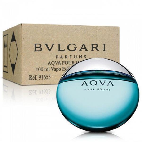 Bvlgari Aqva pour homme — туалетная вода 100ml для мужчин ТЕСТЕР ЛИЦЕНЗИЯ LUX