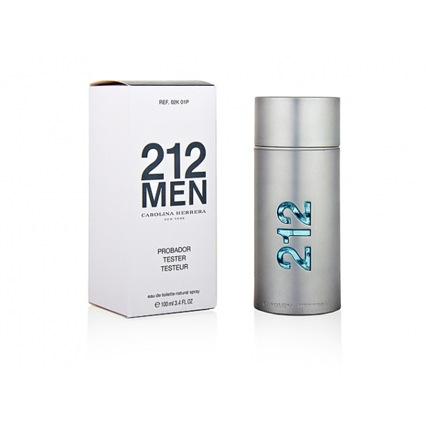 Carolina Herrera 212 — туалетная вода 100ml для мужчин ТЕСТЕР ЛИЦЕНЗИЯ LUX