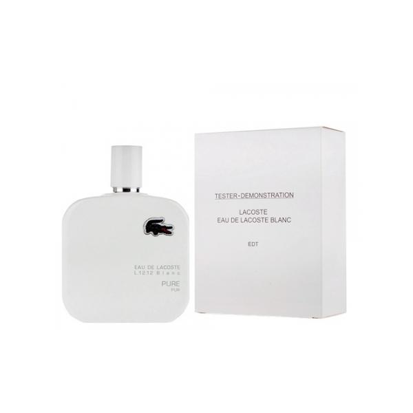 Lacoste Eau De Lacoste L.12.12 Blanc — туалетная вода 100ml для мужчин ТЕСТЕР ЛИЦЕНЗИЯ LUX