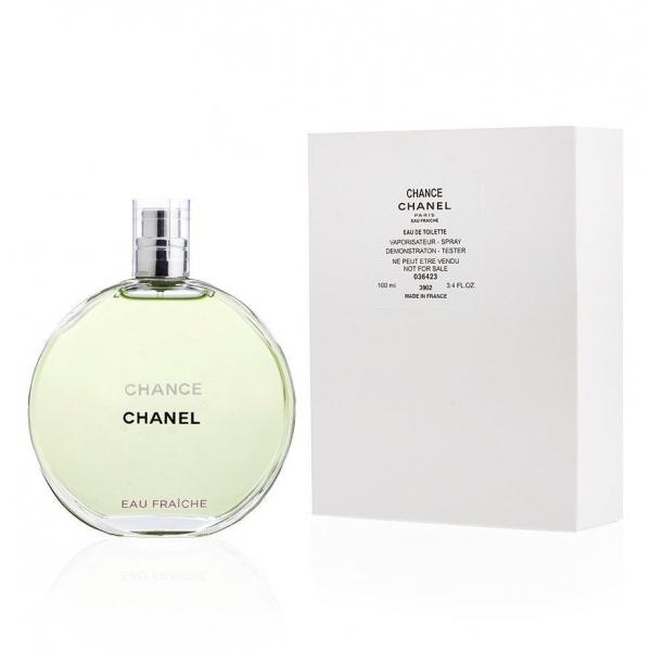Chanel Chance Eau Fraiche — туалетная вода 100ml для женщин ТЕСТЕР ЛИЦЕНЗИЯ LUX