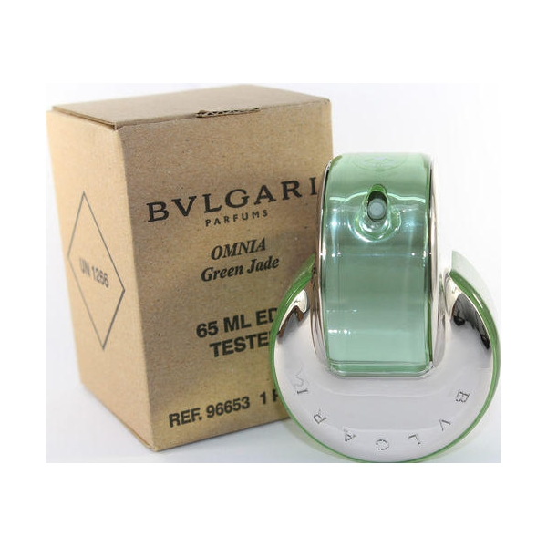 Bvlgari Omnia Green Jade — туалетная вода 65ml для женщин ТЕСТЕР ЛИЦЕНЗИЯ LUX