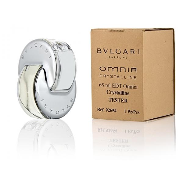 Bvlgari Omnia Crystaline — туалетная вода 65ml для женщин ТЕСТЕР ЛИЦЕНЗИЯ LUX