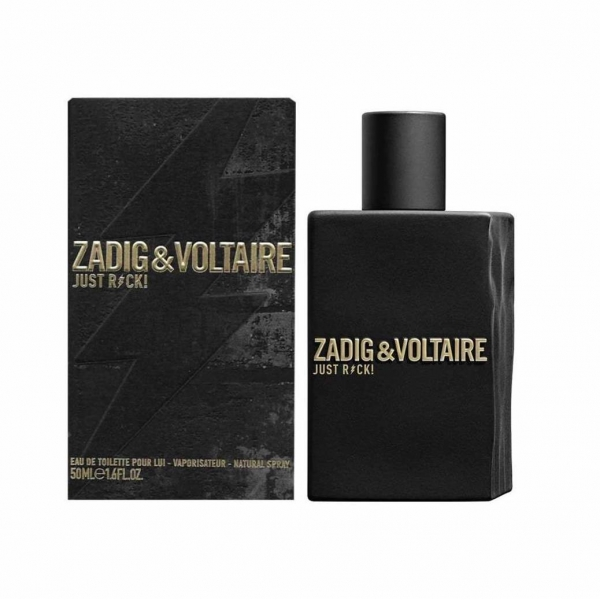 Zadig & Voltaire Just Rock! For Him — туалетная вода 50ml для мужчин