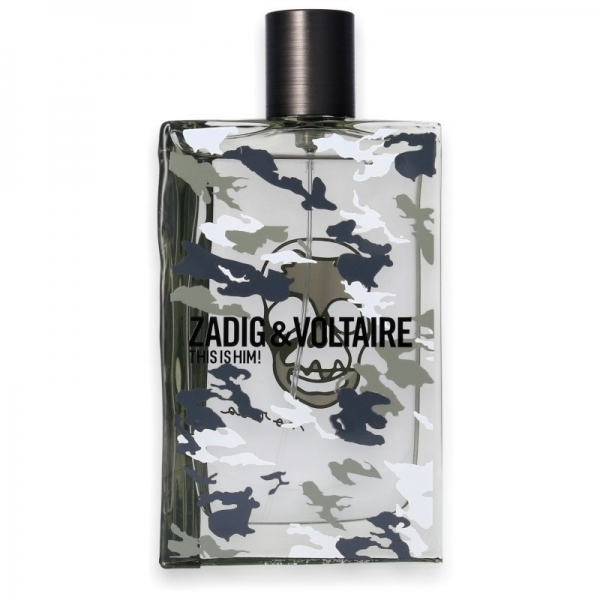 Zadig & Voltaire This Is Him No Rules! — туалетная вода 100ml для мужчин ТЕСТЕР
