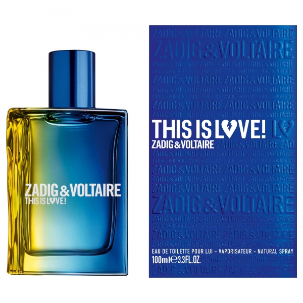Zadig & Voltaire This Is Love! For Him — туалетная вода 100ml для мужчин