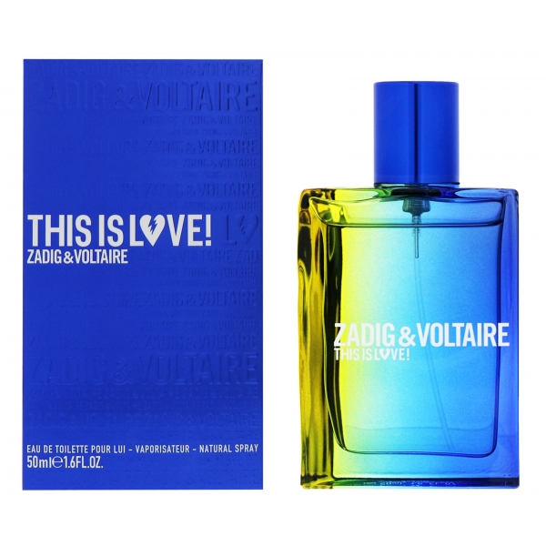 Zadig & Voltaire This Is Love! For Him — туалетная вода 50ml для мужчин