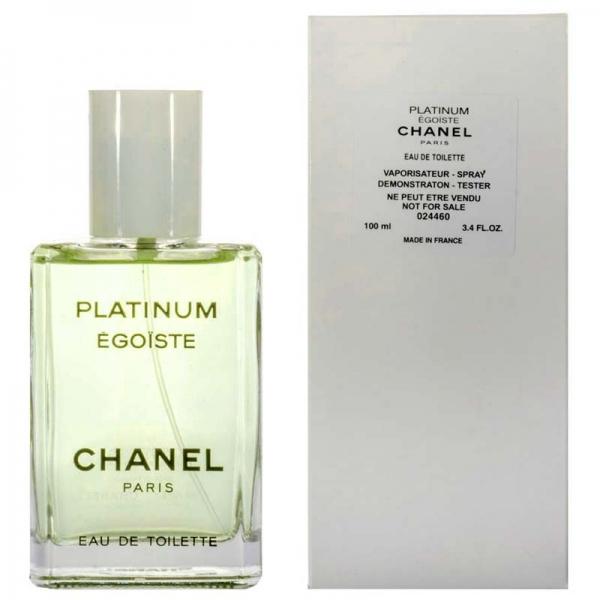 Chanel Egoiste Platinum — туалетная вода 100ml для мужчин ТЕСТЕР ЛИЦЕНЗИЯ LUX