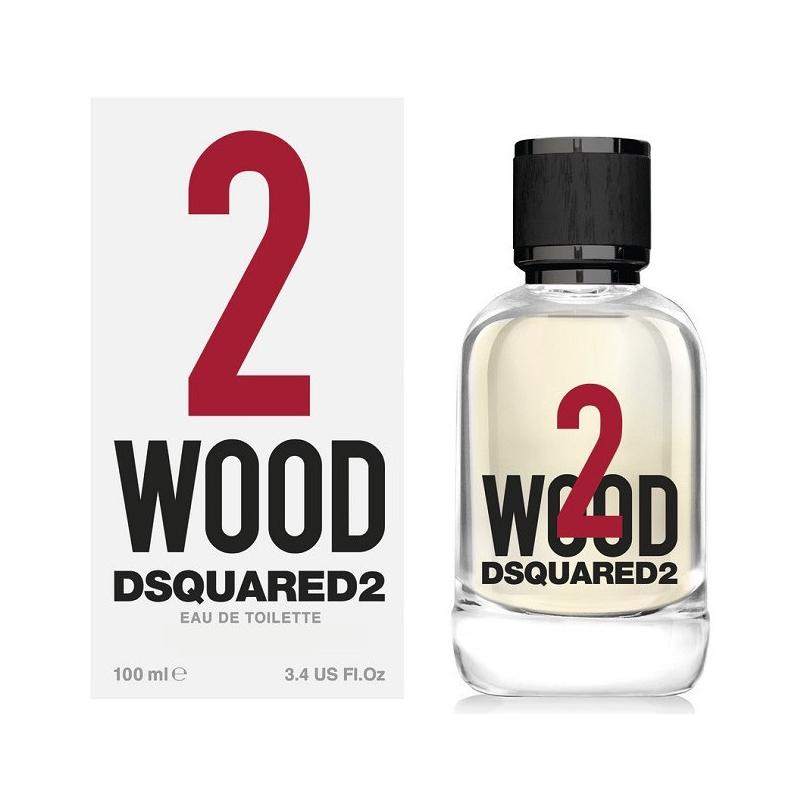 Dsquared2 2 Wood — туалетная вода 100ml унисекс