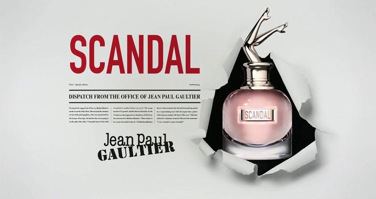 Купить Jean Paul Gautier Scandal парфюмированная вода Киев, Одесса, Харьков, Днепр