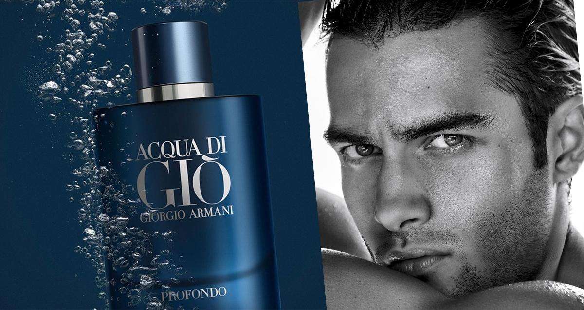 Giorgio Armani Acqua di Gio Profondo — парфюмированная вода для мужчин Киев, Днепр, Львов, Одесса, Запорожье